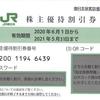 スクラッチカード式株主優待券-0