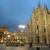 ドゥオモ広場 夜景 ミラノ ~2014欧州旅行記 その11~