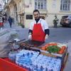 イスタンブールのストリートフード②キョフテサンド