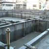 着工12日目基礎生コン打設11月10日