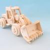 木製パズル ブルドーザー