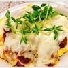 簡単!低糖質!具だくさんカレーチーズオムレツ【食事&体重記録】