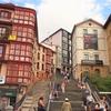フランス&スペイン旅「ワインとバスクの旅!ビスカヤ橋周辺を歩いたら、次はビルバオの旧市街へ!」