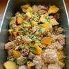 豚ひき肉とサツマイモの旨煮