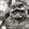 三十仏の仁王像(吽形) 大分県国東町