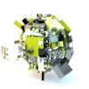 C4D Study Random Cube Sphere