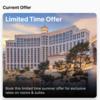 【My Vegas・Mlife】Mlifeで無料宿泊特典を見つけました