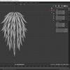 Bevel Curve Toolsアドオンを使ってBlenderで髪の毛オブジェクトを作る その3(辺分離によるスムースシェードの修正)