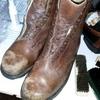 ボロボロの靴も手入れすれば復活?家にあったボロボロワークブーツで実践してみたでござる