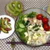 8月23日の食事記録~ビタミンCを意識してフルーツを増やしました