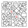 四角渡り迷路:問題24
