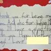 息子とAPD13。きれいな字を書けますか?