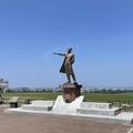 ウィリアム・スミス・クラーク像 その二 (丘の上のクラーク) ~PCX150北海道ソロツーリング四日目-②~