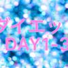 【定期報告】ダイエット1〜3日目
