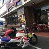 NSR250Rでライダーズカフェに行きました。