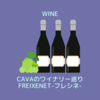 CAVAのワイナリー巡り FREIXENET-フレシネ-