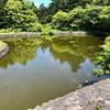「池の森」の防火池(北海道利尻)