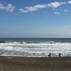 オンショアの波での練習方法