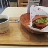 モスバーガー(京都二条駅前店)で野菜バーガーのモーニングで今日も朝からガッツリ