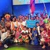 国際青少年連合 韓国ワールドキャンプ ダンスフェスティバル金賞受賞