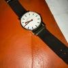 腕時計mondain evoのベルトをNatoバンドに変えたら純正よりかっこよかった