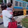 揺るがない電車愛と園庭遊び