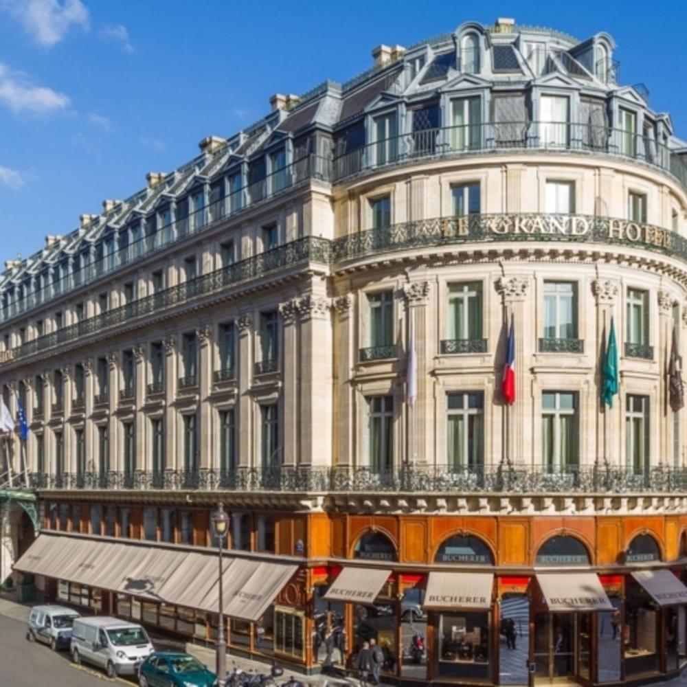 IHGのポイントで無料宿泊 インターコンチネンタル・パリ ル・グラン