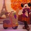 2020秋♡ミニーのスタイルスタジオを初体験!バースデーシールそっちのけでミッキーおばけに驚く秋服ミニーちゃんが可愛かった