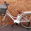 通勤は、電車 時どき 電動アシスト自転車です (*^-^*)