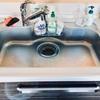 キッチンシンクの掃除【排水溝のフタは要らない】