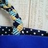 11号帆布 三つ編みトートバッグ ハンドメイド作品