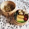 塩豚とネギの串焼き弁当