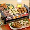 一人暮らしの宅飲みに最適 三ッ谷電機 屋台横丁 卓上焼き鳥 焼肉 たこ焼き器 MYT-800