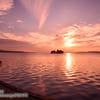 美しい!夕陽百選の松江宍道湖でゆうぐれ撮影