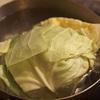 洋風キャベツピクルスと冷や飯カレー
