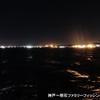 タチウオ調査 in 神戸空港ベランダ