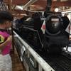【レストラン蒸気機関車】蒸気機関車が料理を運んでくれるレストラン!!