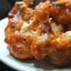 鶏手羽元のチューリップ、スパイス効いたトマトソースかけ