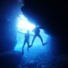 ♪目指せ、PADIアドバンス in 青の洞窟♪〜沖縄ダイビングライセンスアドバンス那覇〜