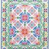 """Elegant Tile Designs Coloring Book""完成作品ギャラリー①"