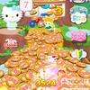 キティちゃんのメダルゲームアプリが面白かった
