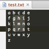EmacsとPyCharmの矩形選択