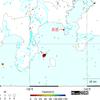 【地震】千島列島でM5.2+横須賀の定置網でナガスクジラ捕獲