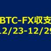 【ビットコインFX収支】それでも勝ちは勝ち。2017年12月23日~12月29日【人生初FXで勝てるのか?】