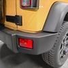 車 外装パーツ修理#6 ジープ/ラングラーアンリミテッドサハラ バンパー未塗装素地部の擦り傷補修+劣化防止保護コーティング