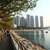 <香港:荃灣>荃灣公園Tsuen Wan Park ~藍巴勒海峽Rambler Channel(ランブラー海峡)沿いをお散歩~
