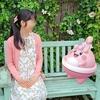花飾りピンプクと念願のツーショット【ポケモンGOAR写真】横浜イングリッシュガーデンにて
