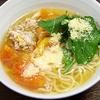 白央篤司さんの人気レシピ「鶏トマトそば」をイタリアンにする