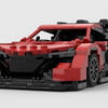 【レゴ自作】ホンダNSXのレーシング仕様の動画