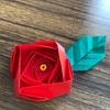折り紙教室で薔薇 作りました。